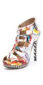 ONE by Alejandra G, Tyrese Jawbreaker Sandals