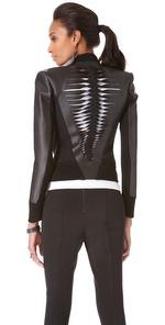 Dion Lee Filter Leathert Biker Jacket - Shop Bop