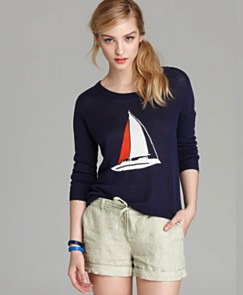 Joie Sweater - Evaline Sailboat Bloom