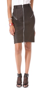 McQ Alexander McQueen Stretch Pencil Skirt - ShopBop