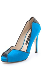 Chrissie Morris metropolis open toe pumps - ShopBop