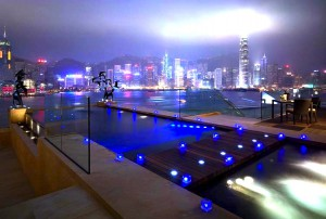 Night Time at Intercontinental Hong Kong