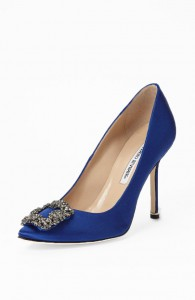 Manolo Blahnk 'Hangisi' Jeweled Pump Nordstrom