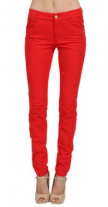 Minnie Rose skinny pant in cherry - Couture Candy