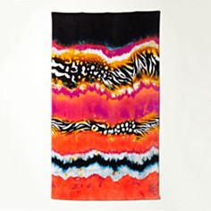 Natori Mayon Shearded print Beach Towel Bloom