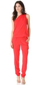 Ramy Brook Lulu One shoulder jumpsuit - ShopBop