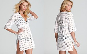 Tory Burch Luna Tunic Swimsuit Cover Up Bloomingdales -1