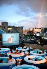 Hot Tub or Cinema Bar? London!