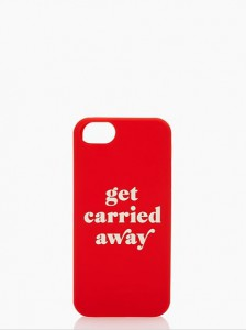 GET CARRIED AWAY IPHONE 5 CASE - kate spade