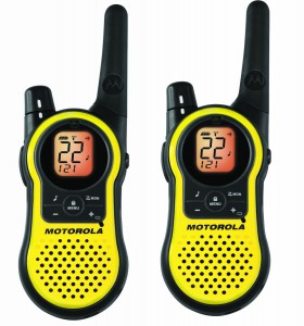 Motorola MH230 R 23-mile Range 22-Channel FRS-GMRS Two-way Radio (Pair)