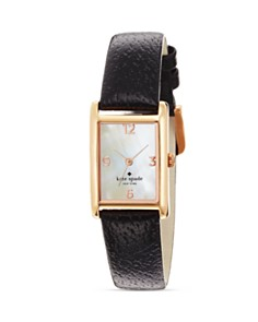 kate spade new york Cooper Black Strap bloom