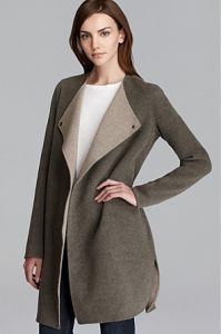 Vince Sweater Coat - Double Face Asymmetric