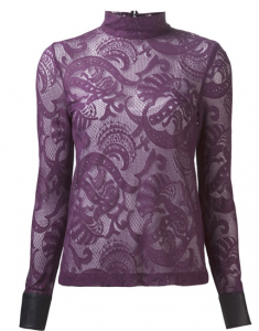 Farfetch_YIGAL AZROUEL lace top