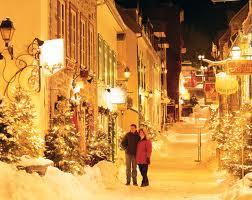Strolling in Quebec