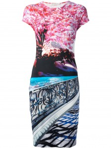 Farfetch_ MARY KATRANTZOU 'Elay' Printed Jersey Dress