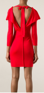 ALEXANDER MCQUEEN open back bodycon dress _farfetch