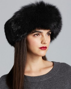 Bloomingdales_Surell Fox Fur Collar-Headband