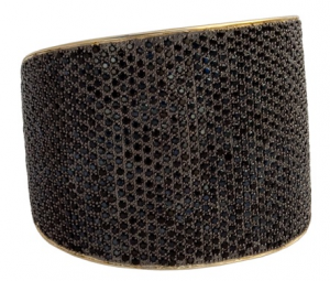 Farfetch_TOM BINNS 'Bejewelled' statement cuff
