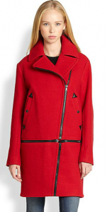 Rag & Bone Rally Convertible Zipped Wool, Linen & Cotton Coat_SAKS