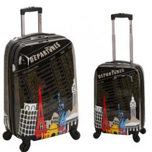Rockland Luggage 2 Piece Upright Luggage Set amazon