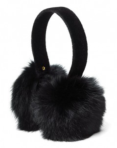 bloomingdales Surell Rabbit Earmuffs with Velvet Band