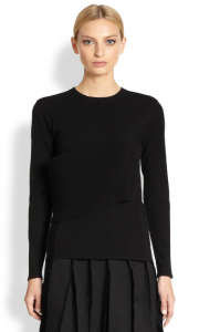 saks_J.W. Anderson Knit Side-Panel Top