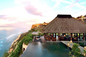 Cliffside Pool at Bulgari Bali