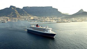 QM2 in Capetown, South Africa