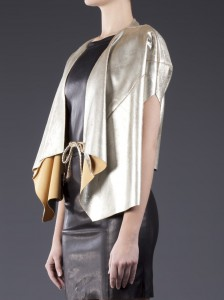 DROME Metallic Bolero_farfetch