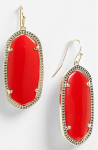 Kendra Scott 'Elle' Small Oval Earrings Nordstrom