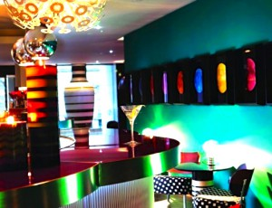 Bar at Missoni Hotel Edinburgh