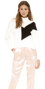 McQ-Alexander McQueen Big Arrow Sweater sb