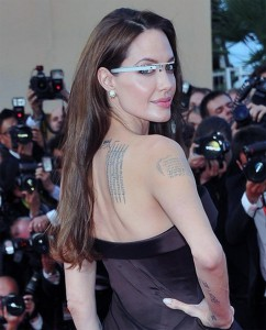 Angelina-Jolie-Google-Glass
