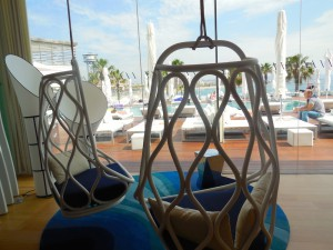 Swinging at the W Barcelona