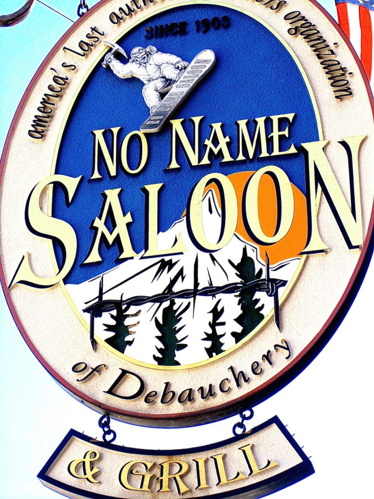 No Name Saloon Park City