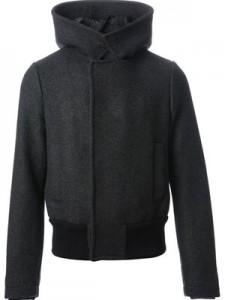 Farfetch Giorgio Armani Wool Hooded Jacket