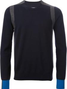 Maison Martin Megela Paneled Sweater
