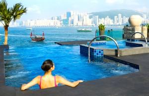 Iconic view Intercontinental Hong Kong